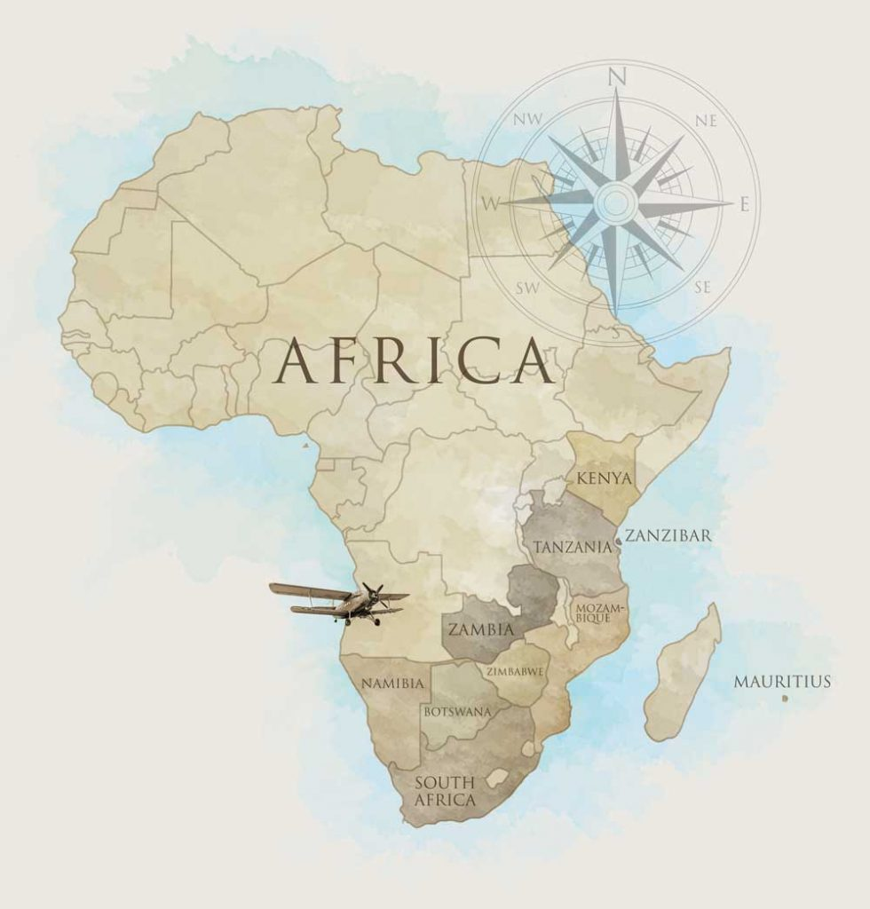 africa-map - Azania Voyages